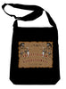 Grim Reaper Ouija Board on Black Sling Bag Horror Book Bag