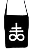 Crux Satanus Leviathan Crossbody Sling Bag Occult Black Sulphur