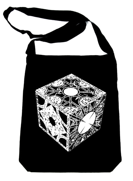 Puzzle Box Crossbody Sling Bag Hellraiser Pinhead Horror
