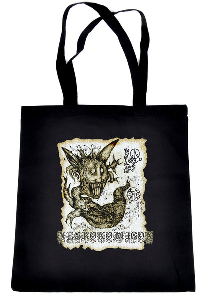 Necronomicon Demon Tote Bag Book of the Dead