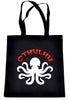 Cthulhu Octopus Tote Bag Book Handbag Occult HP Lovecraft