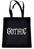 Gothic Way of Life Tote Bag Strange Unusual Spooky Creepy Dark Alternative Clothing Book Bag