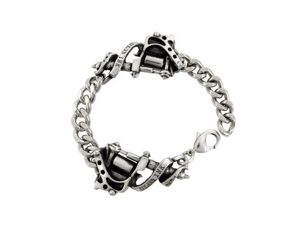 Alchemy Gothic Tattoo Machine Bracelet Kat Von D