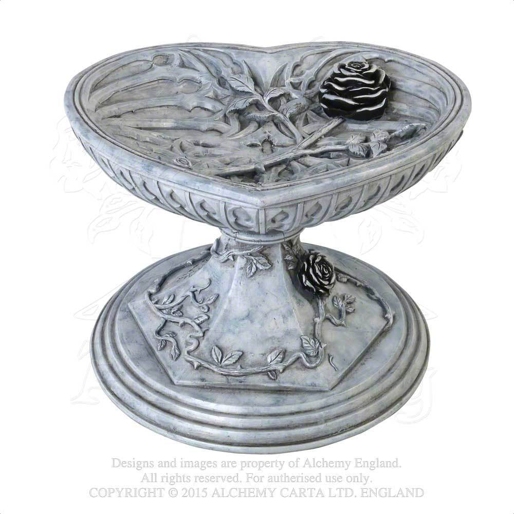 Alchemy Gothic The Vault Heart of Otranto Chalice Rose Bowl