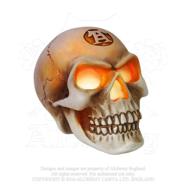 Alchemy Gothic The Vault Skull LED Light Eyes