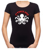 Cthulhu Octopus Women's Babydoll Shirt Top HP Lovecraft