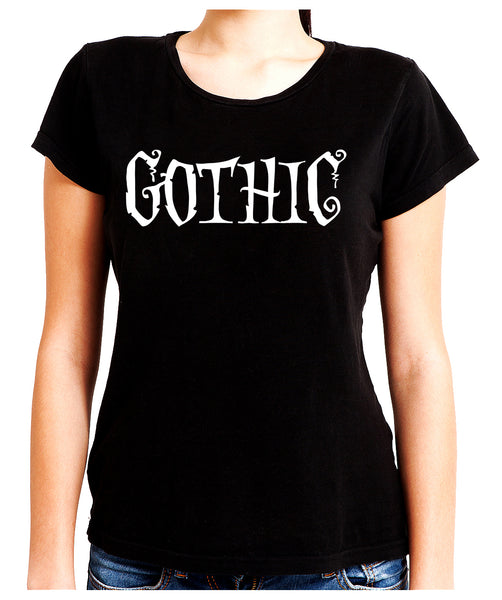 Gothic Way of Life Women's Babydoll Shirt Strange Unusual Spooky Creepy Dark Alternative Clothing