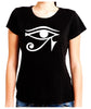 Egyptian Eye of Ra Horus Women's Babydoll Shirt Ancient Egypt Sun God