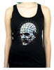Pinhead Hellraiser Women's Racer Back Tank Top Shirt Horror Cenobite