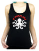 Cthulhu Octopus Racer Back Tank Top Shirt HP Lovecraft