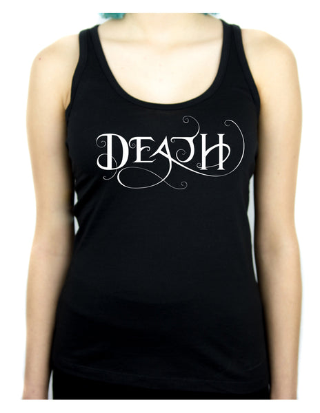 Death Being the End Women's Racer Back Tank Top Shirt