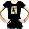 The Black Death Plague Women's Babydoll T-shirt 1334 Grim Reaper Mask