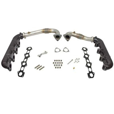 2008-2010 Ford 6.4L Powerstroke BD-Power 1041481 Up-Pipe & Manifold Kit