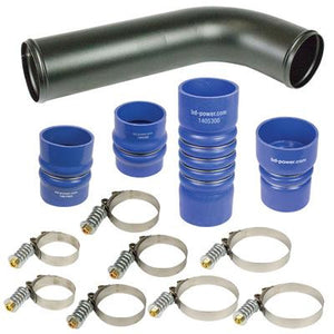 2007.5-2009 Dodge 6.7L Cummins BD-Power 1045216 Intercooler Hose & Clamp Kit