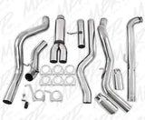"2001-2007 GM 6.6L Duramax MBRP 4"" Dual XP Series Downpipe-Back Exhaust System S6006409"