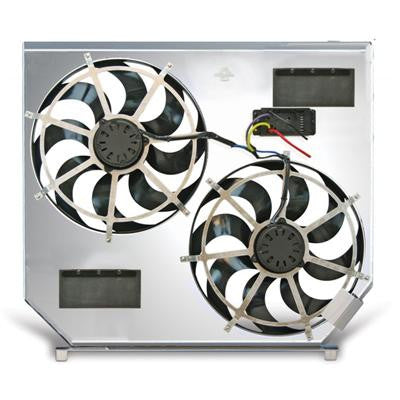 Flex-a-lite 272 Direct-Fit Dual Electric Cooling Fans
