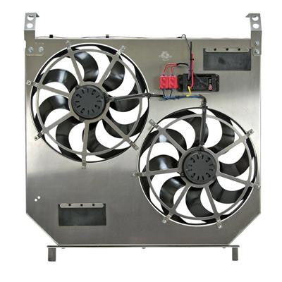 Flex-a-lite 275 Direct-Fit Dual Electric Cooling Fans