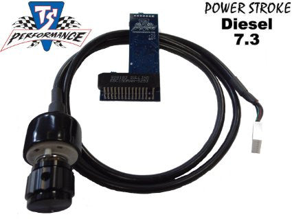 1995-2003 Ford 7.3L Powerstroke TS Performance Switchable 6 Position Chip - 7.3L Powerstroke