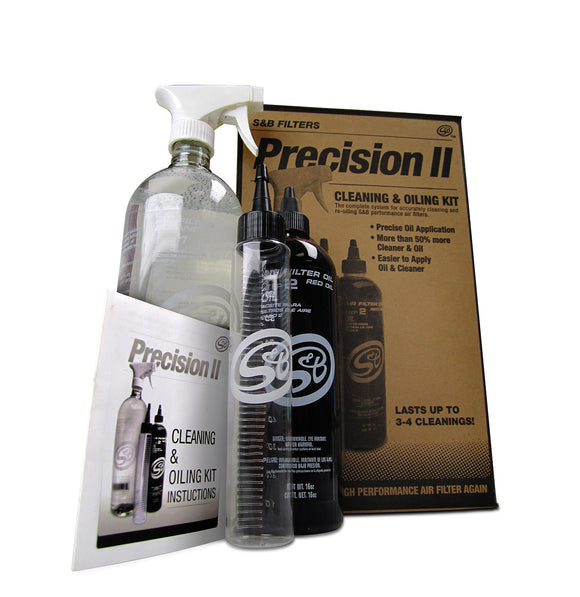 1990-2015 Precision II: Cleaning & Oil Kit (Red Oil)