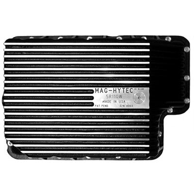 2008-2010 Ford 6.4L Powerstroke (5 Speed Torque Shift) without the external spin on filter. Mag-Hytec F5R110W Transmission Pan