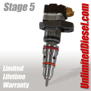 1994-2003 7.3L Powerstroke Fuel Injectors - Stage 5 by Unlimited Diesel