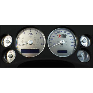 2007.5-2010 Chevy Silverado 6.6L Duramax LMM RBP Gauge Face Plate Only with Stock Needles