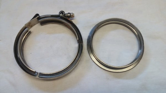 S400 T4 Downpipe Flange and Clamp