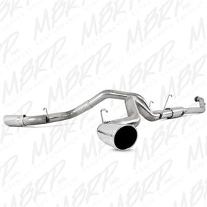 "2004.5-2007 Dodge 5.9L Cummins (All Cabs & Beds) 4WD MBRP 4"" Dual Installer Series Turbo-Back Exhaust System S6128AL"