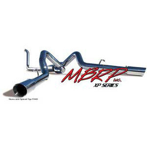 "1999-2003 Ford 7.3L Powerstroke (All Cabs & Beds) 4WD MBRP 4"" Dual Installer Series Turbo-Back Exhaust System S6202AL"