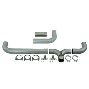 "2004.5-2007 Dodge 5.9L Cummins (All Cab & Beds) | 2007.5-2012 Dodge Ram 6.7L Cummins (Mega Cab) MBRP 4"" Installer Series Cat-Back Dual Exhaust Stack System S8102AL"