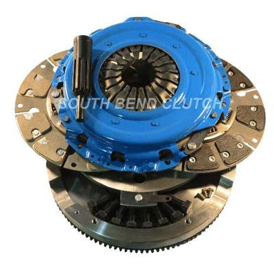 2001-2005 GM 6.6L Duramax (650HP & 1200 Ft-Lbs.) South Bend SDDMAXDFY Street Dual Disc Clutch