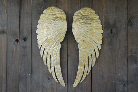 Gold angel decor