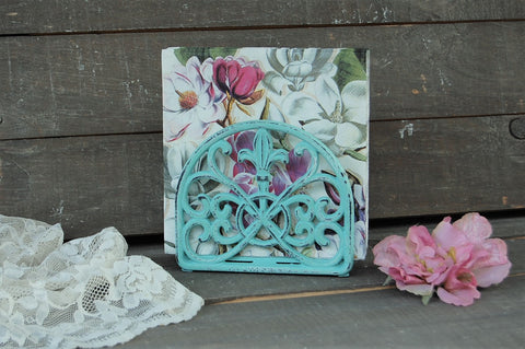 Seafoam napkin holder