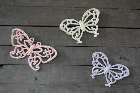 Shabby chic butterflies