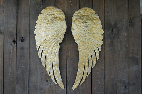 Gold angel decor - The Vintage Artistry