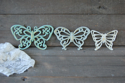 Butterfly wall decor - The Vintage Artistry