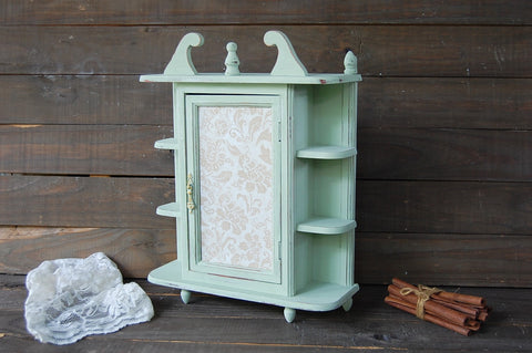 Sage wall cabinet