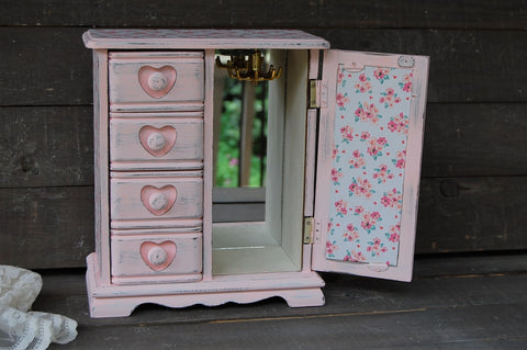 Sweetheart jewelry box