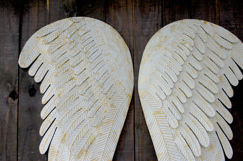 Shabby Chic Angel Wings The Vintage Artistry