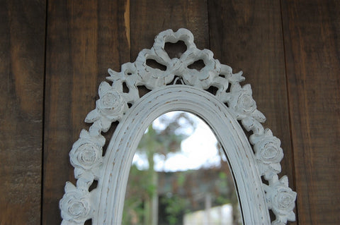 Upcycled vintage mirror