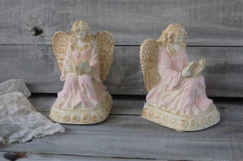 Angel bookends - The Vintage Artistry