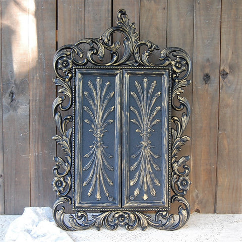 Ornate jewelry armoire