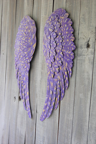 3 color angel wings - The Vintage Artistry