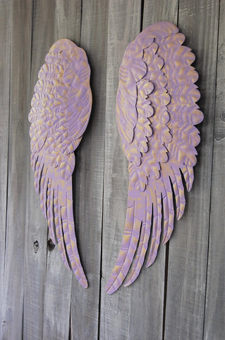 Lavender angel wings - The Vintage Artistry