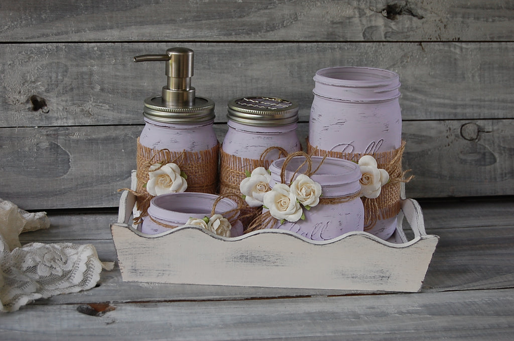 Farmhouse bath set - The Vintage Artistry