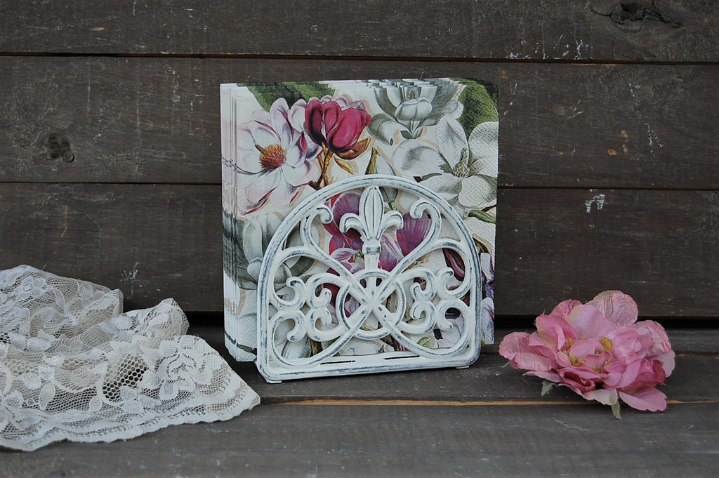 French napkin holder - The Vintage Artistry