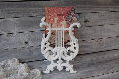 Rustic book holder
