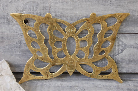 Brass trivet set
