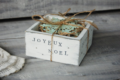 Gift boxed ornaments