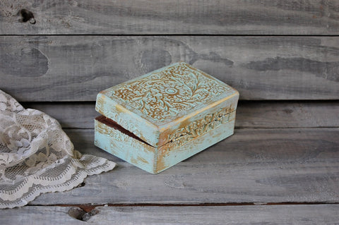 Mint trinket box